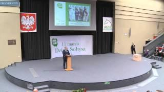 Prezydent na obchodach Dnia Sołtysa w Koninie