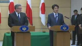 Spotkanie Prezydenta RP z premierem Japonii