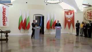 Wizyta oficjalna prezydenta Bułgarii w Polsce