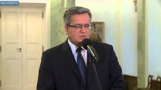 Prezydent wspomina byłego premiera Józefa Oleksego
