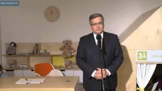Prezydent RP Bronisław Komorowski podpisał projekt ustawy rodzinnej