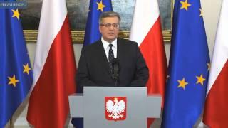 Oświadczenie prezydenta ws. Ukrainy