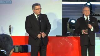 Prezydent RP na uroczystości wręczenia Wektorów 2014