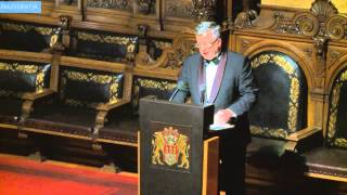 Wystąpienie prezydenta podczas Uczty Świętego Macieja w Hamburgu