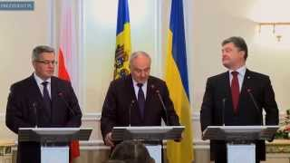 Wizyta Prezydenta RP w Mołdawii
