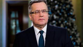 Orędzie Prezydenta RP Bronisława Komorowskiego