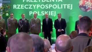 Świąteczne spotkanie z żołnierzami Wojska Polskiego