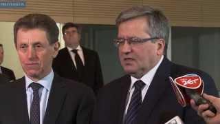 Prezydent wpisał się do księgi kondolencyjnej w Ambasadzie Francji