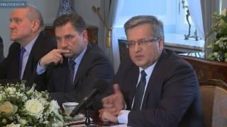 Spotkanie ws. dialogu społecznego w Polsce