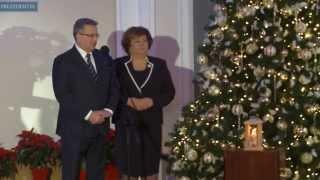 Betlejemskie Światło Pokoju w Belwederze