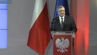 """""""Łączy nas Polska – 5 lat prezydentury Bronisława Komorowskiego"""""""