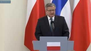 Wizyta prezydenta Finlandii w Polsce