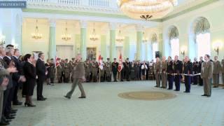 Wręczenie awansów generalskich
