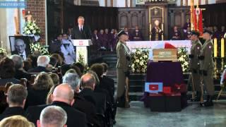 Uroczystości pogrzebowe Władysława Bartoszewskiego