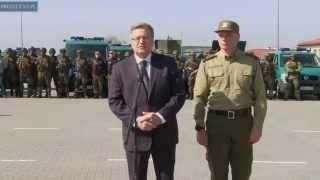 Wizyta prezydenta w Grzechotkach