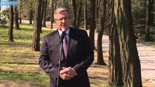 Wspomnienie prezydenta o śp. Władysławie Bartoszewskim