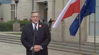 Prezydent w 11. rocznicę wstąpienia Polski do Unii Europejskiej